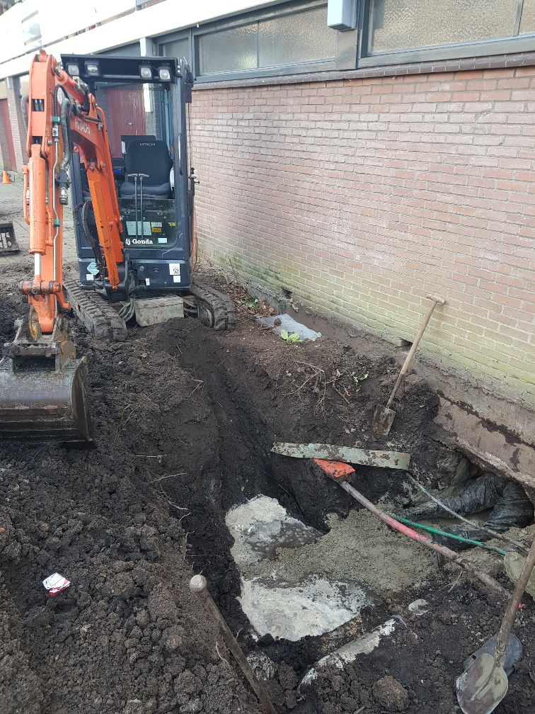 Riool reparatie herstellen herstel repareren