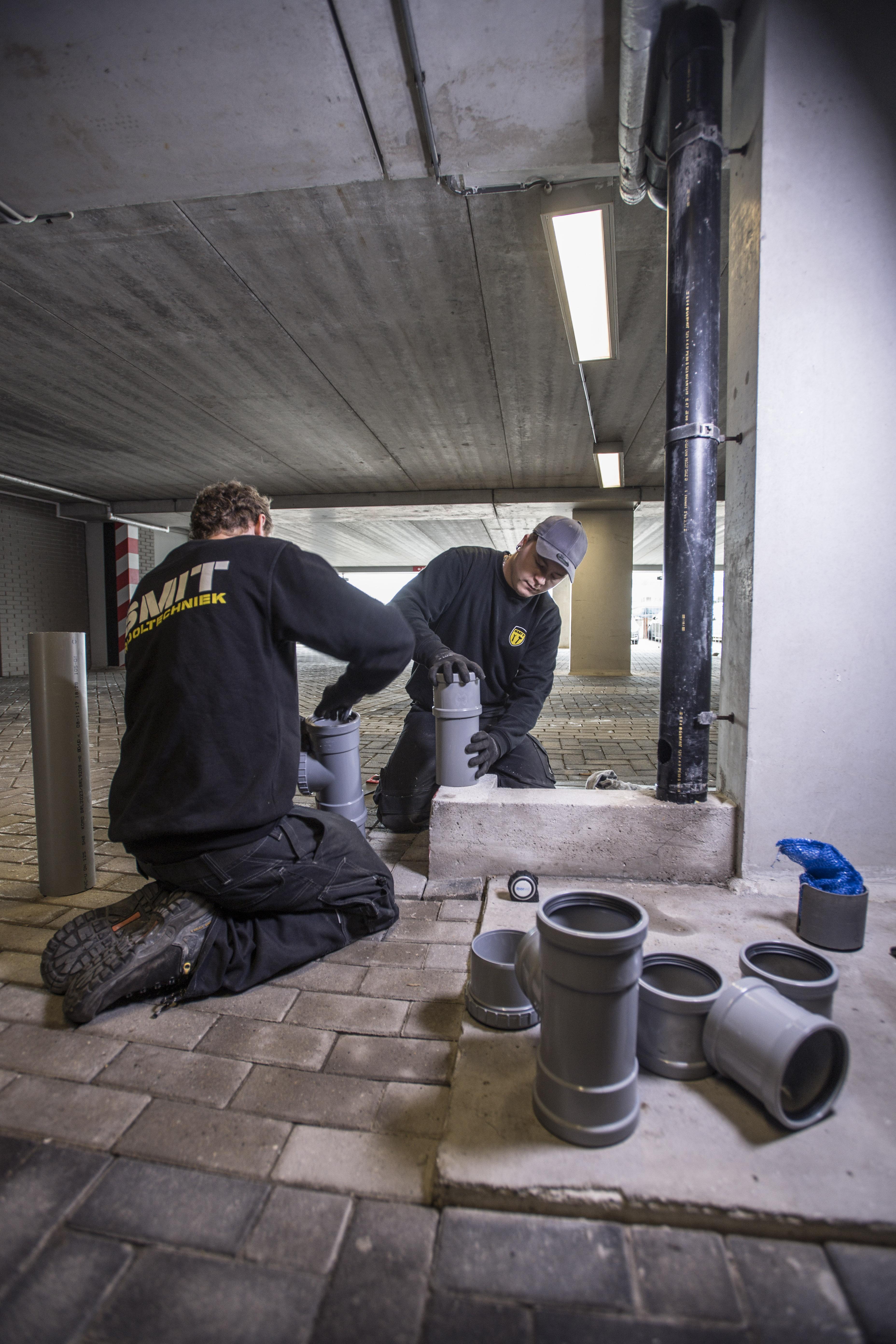 SMIT Riooltechniek afvoer riool verstopt